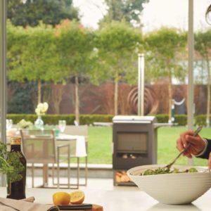 HEAT & GChesneys_Heat_Outdoor_Living_Gartengrill_Kombigrill_Ofen rill background